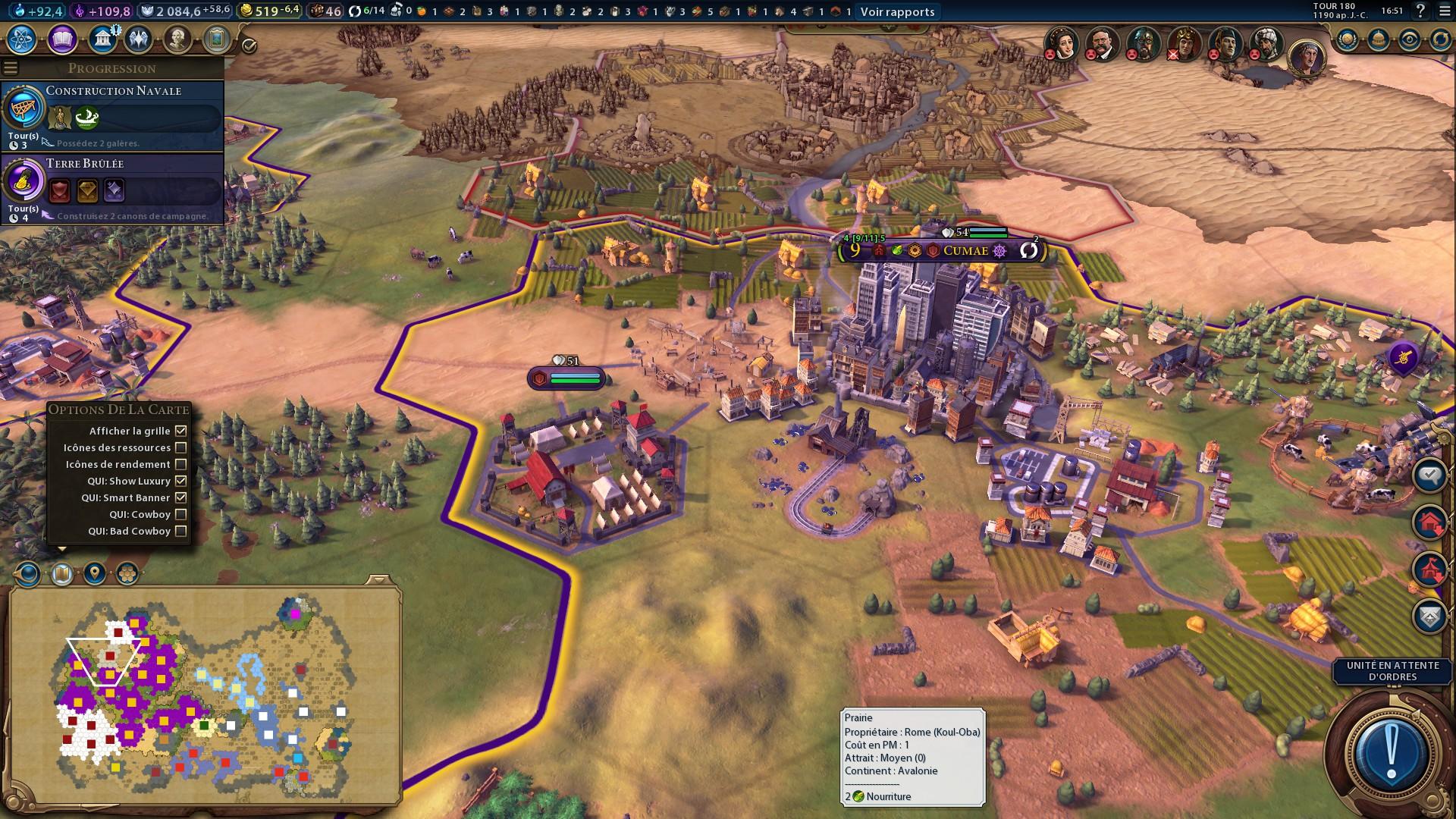 Civilization 6 : Ville, défense, siège et conquêtes