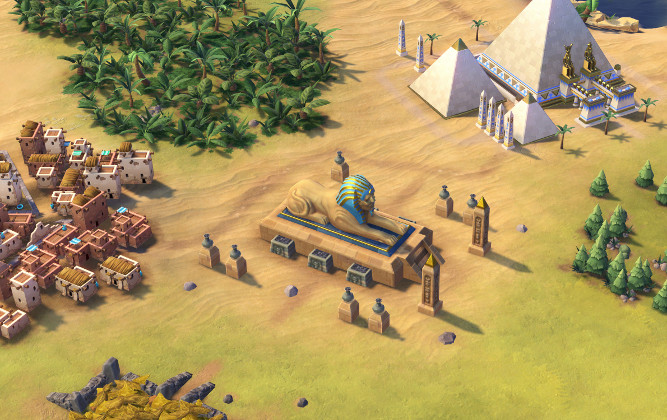 Civilization 6 : Sphinx