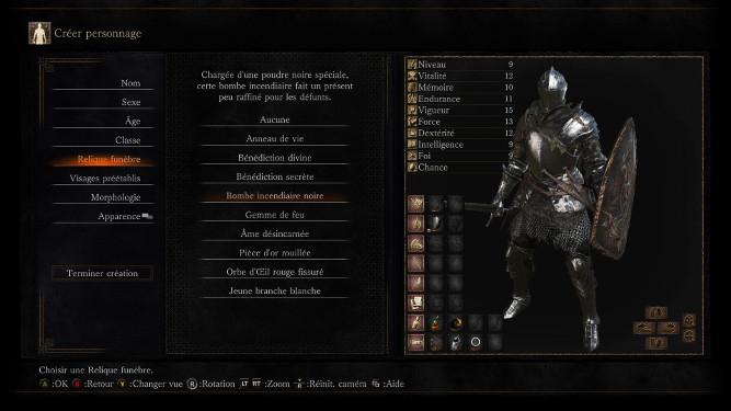 Dark Souls 3 reliques funèbres