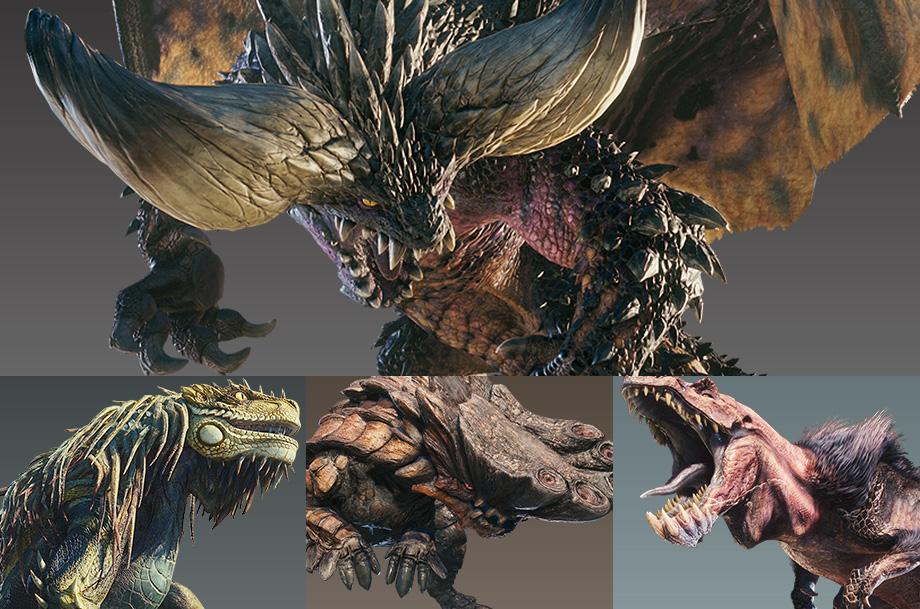 Monster Hunter World : Beta