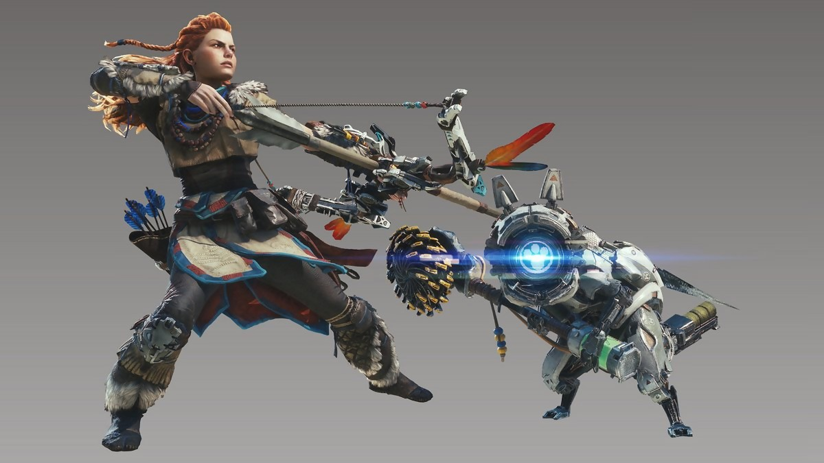 Monster Hunter World - Skin Horizon Zero Dawn