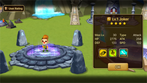 Invocation de monstre dans Summoners War