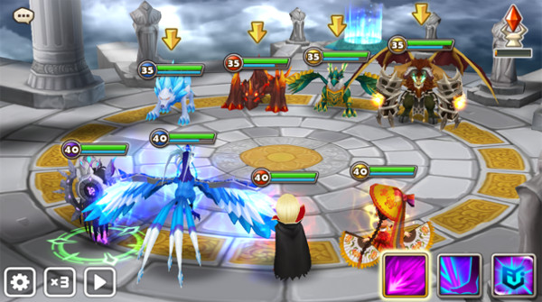 Combat arene Summoners War