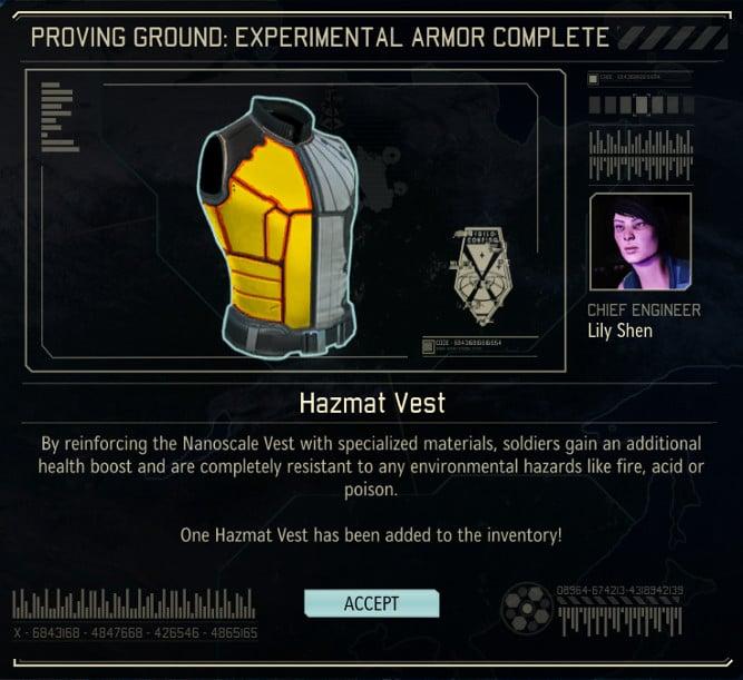 XCOM 2 Projets expérimentaux