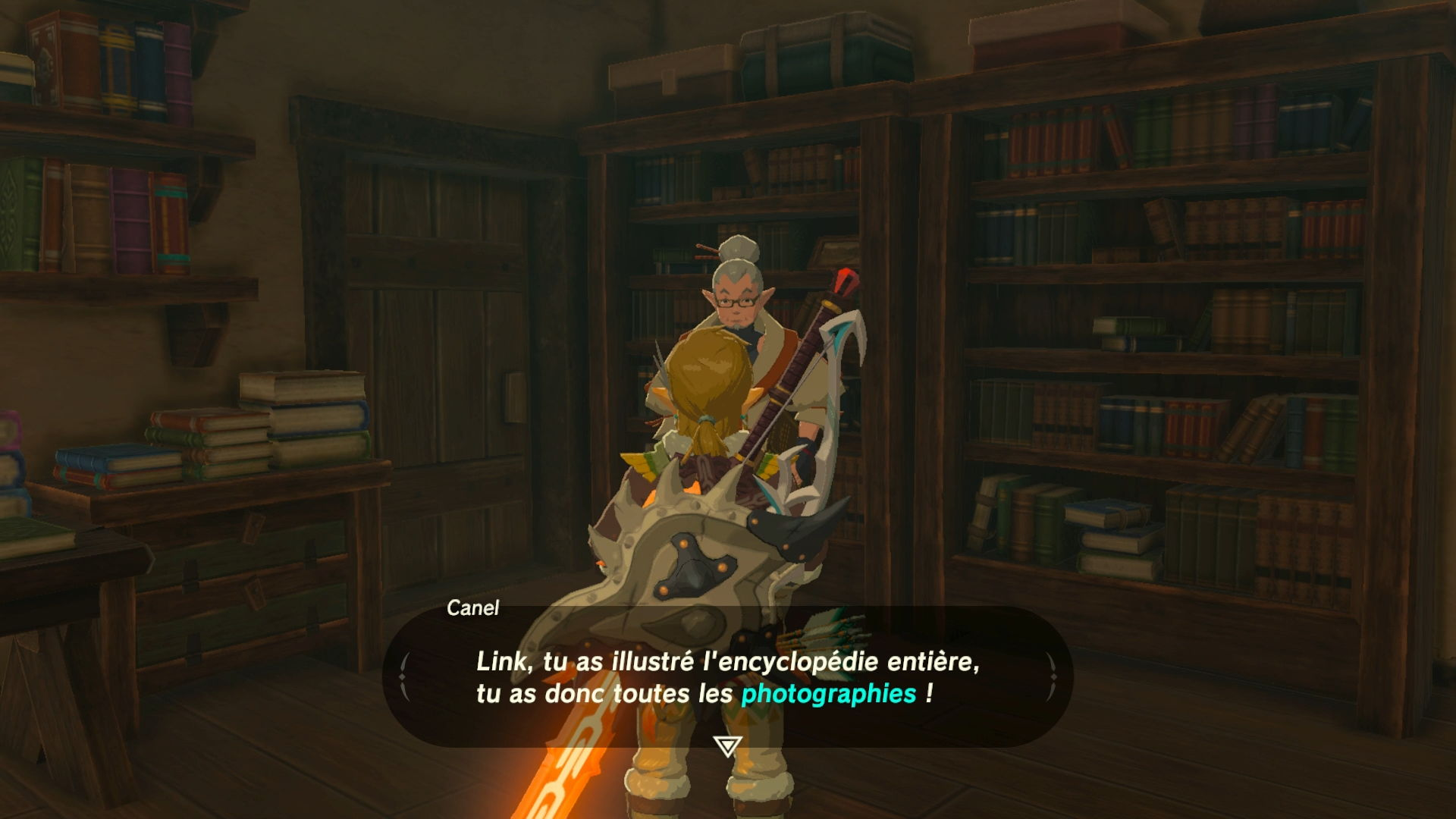 encyclopedie botw