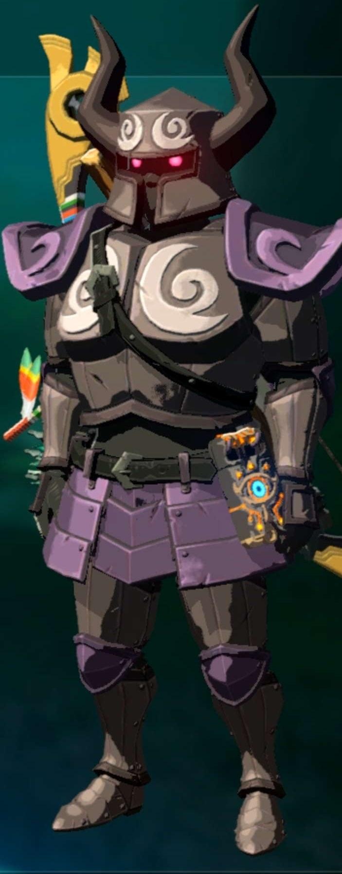 Zelda botw obtenir le set spectre millenium - Link dans zelda ...