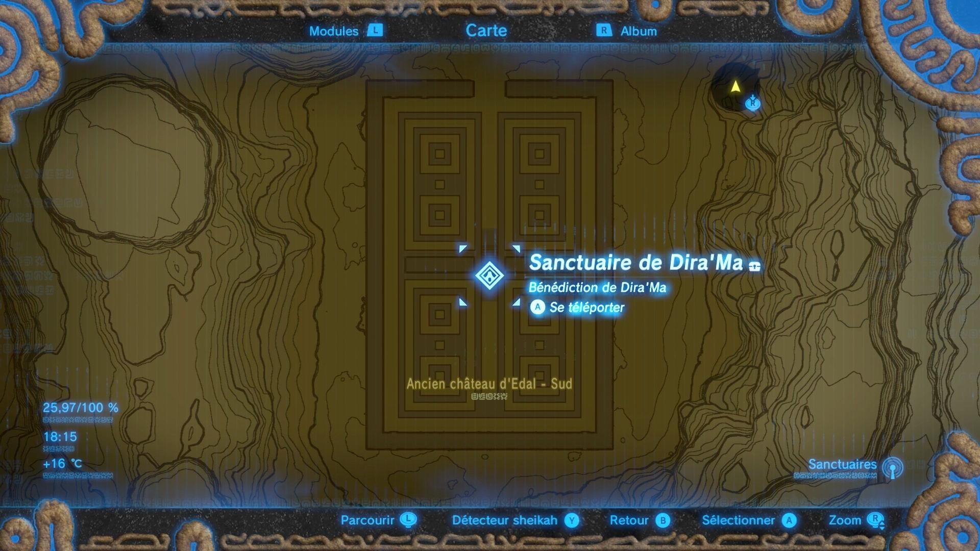 Sanctuaires Les 3 Labyrinthes Millenium