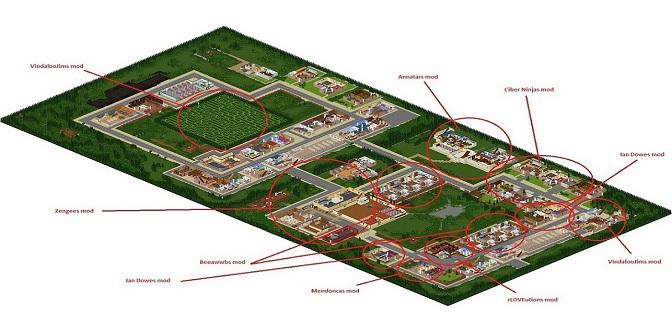 Project Zomboid Centre Ville