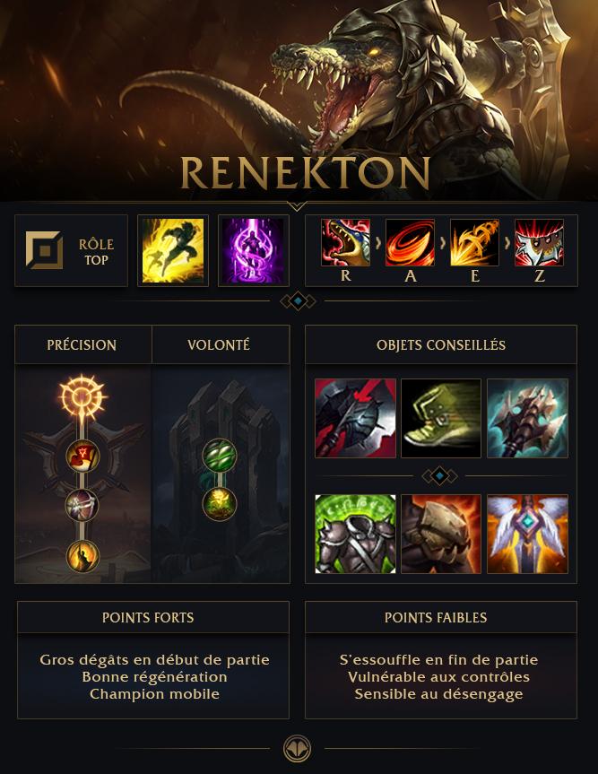 Lol Renekton Build S