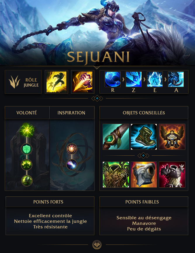 Sejuani Jungle