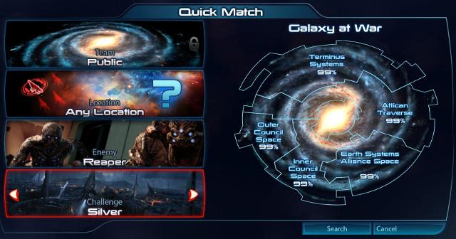 Préparation galactique et options
