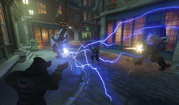 L'arme Tesla de Winston en action !