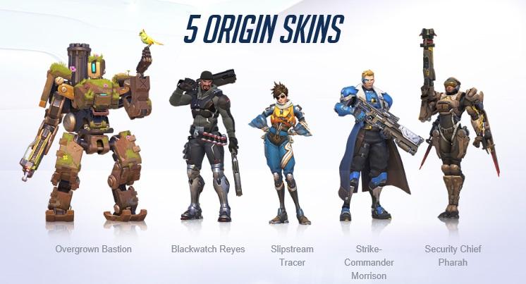 overwatch  de nouveaux skins pour l u0026 39  u00e9t u00e9