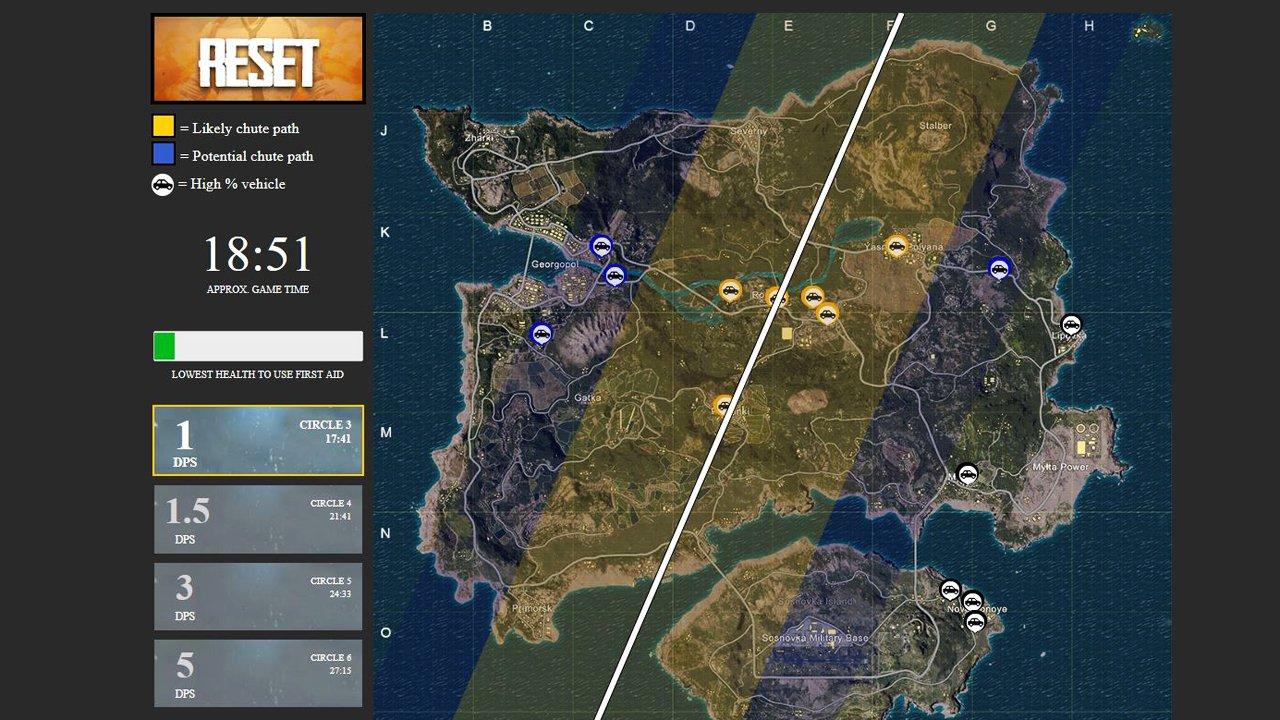 Playerunknown S Battlegrounds Map Guide Find The Best: PUBG : Astuces, Stratégies