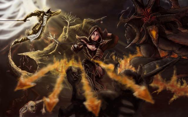 Diablo III : Concours de fanarts Millenium