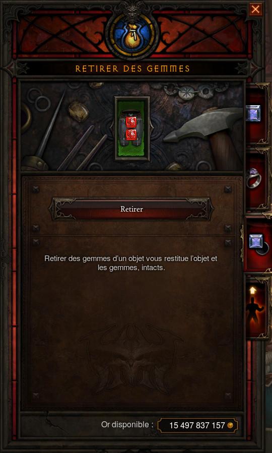 Diablo 3 Patch 2.5.0 - Armurerie