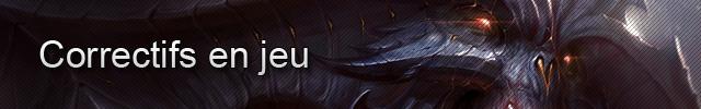 Diablo III : Correctifs en jeu