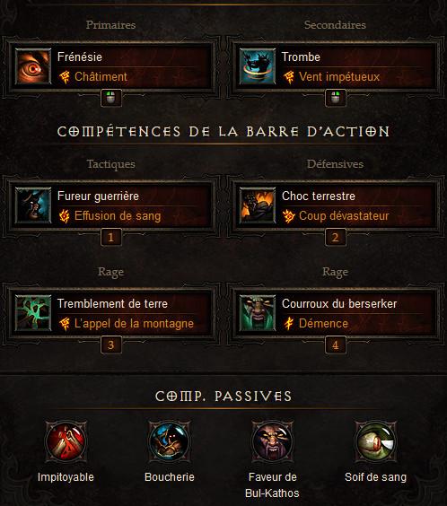 Diablo 3 Build Barbare Débutant