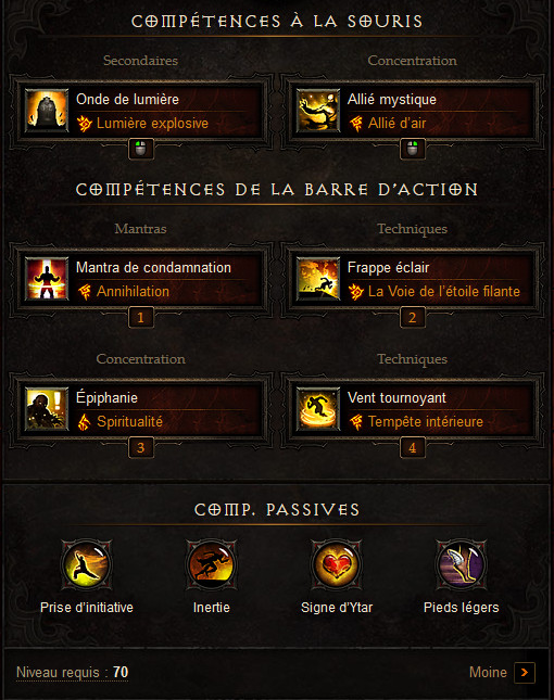 Diablo  Build Onde De Lumiere