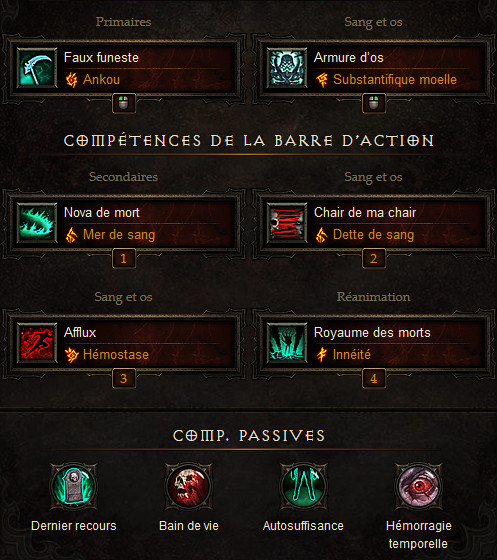 Diablo 3 Build nécromancien Avarar de Trag'Oul 2.6