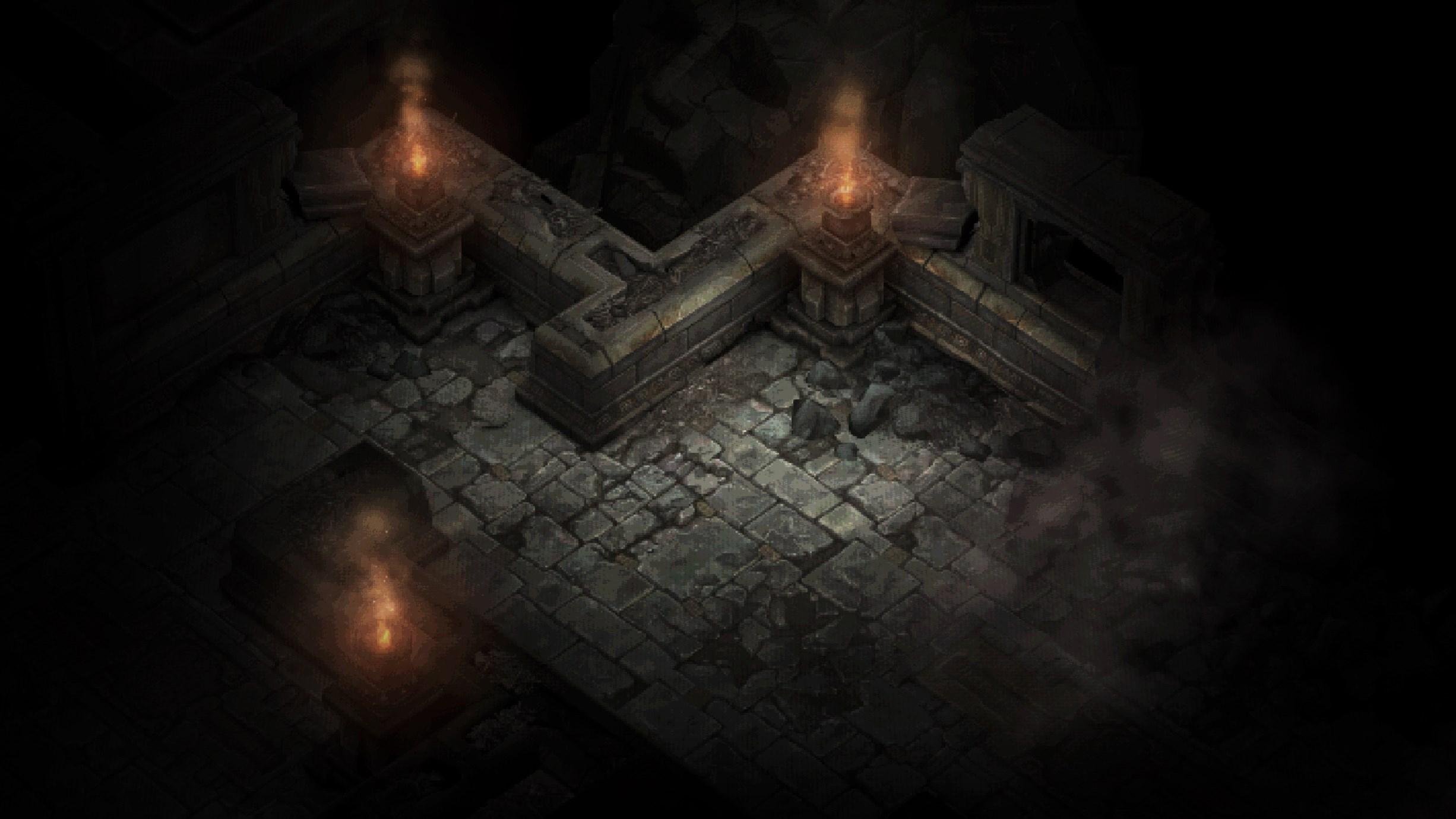 Diablo 3 The Darkening of Tristram - Catacombes