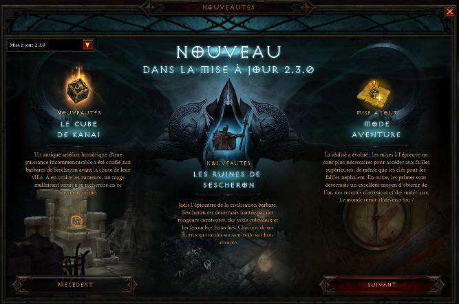 Diablo 3 Patch 2.3