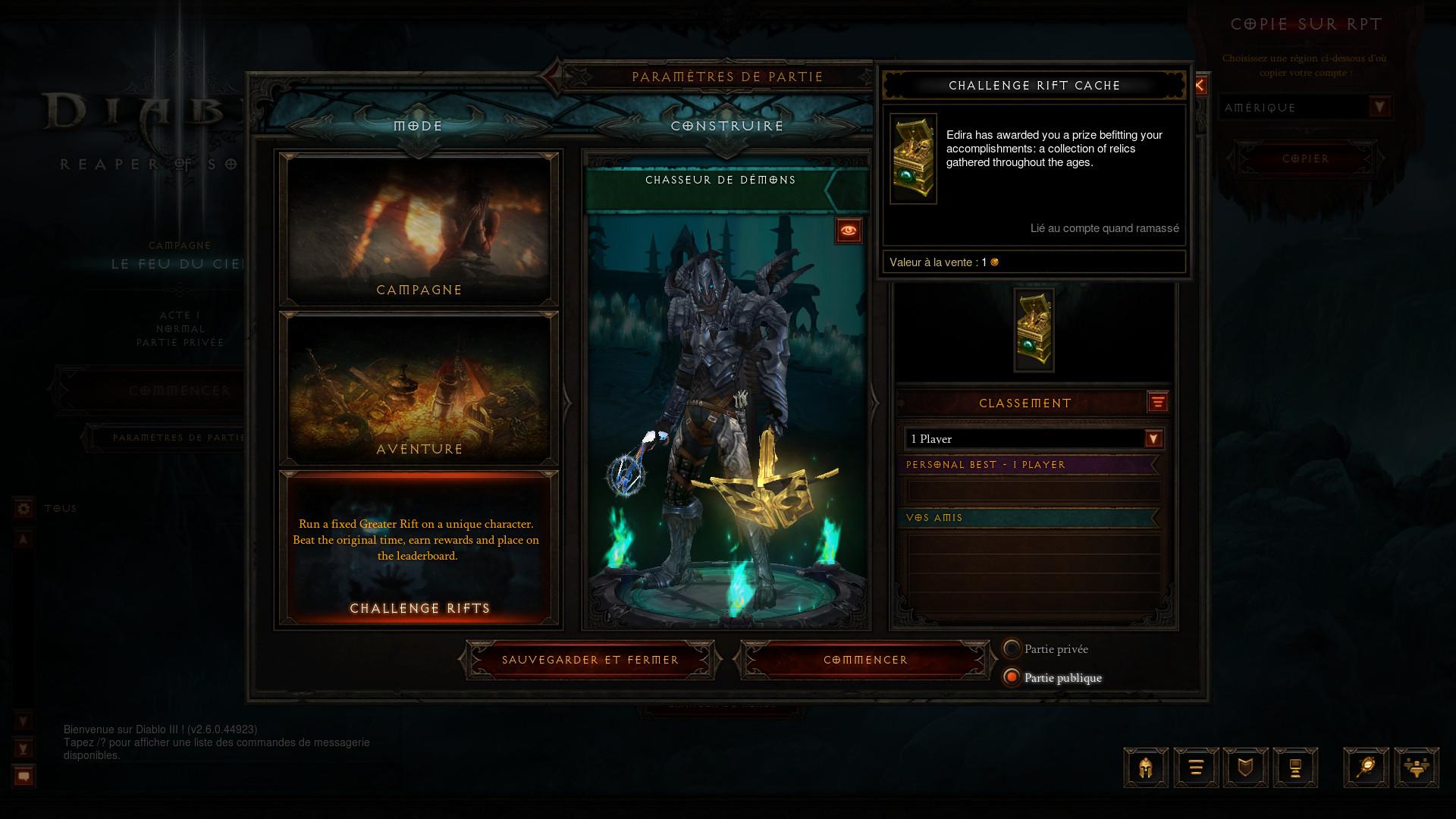 Diablo 3 Faille Probatoire