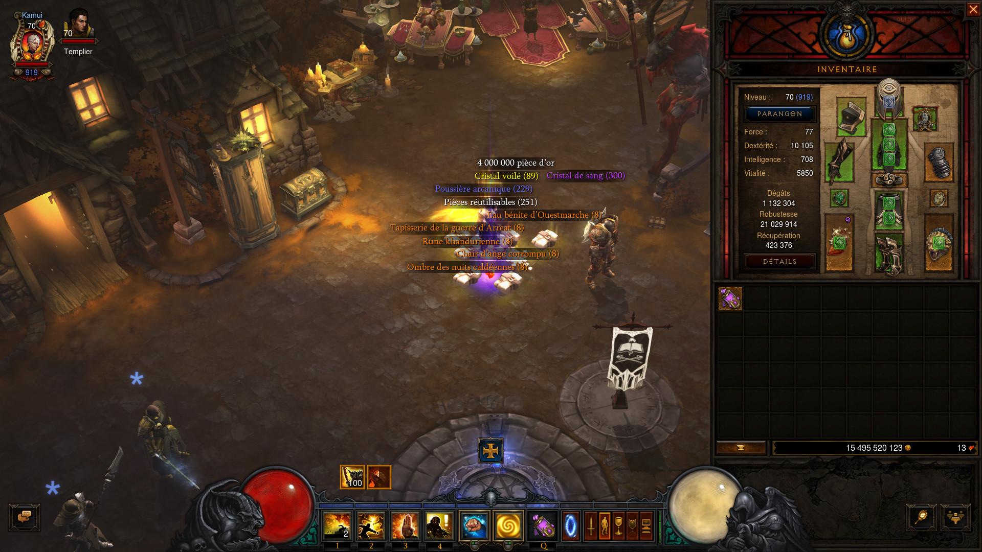 Diablo 3 Patch 2.6 - Faille Probatoire