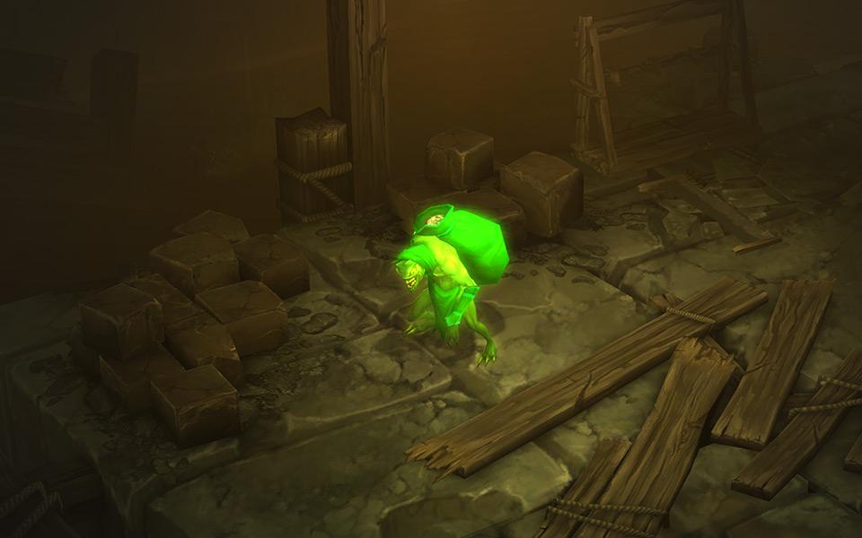 Diablo 3 Gobelin au trésor