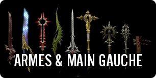 Diablo 3 : Armes et objets en main gauche