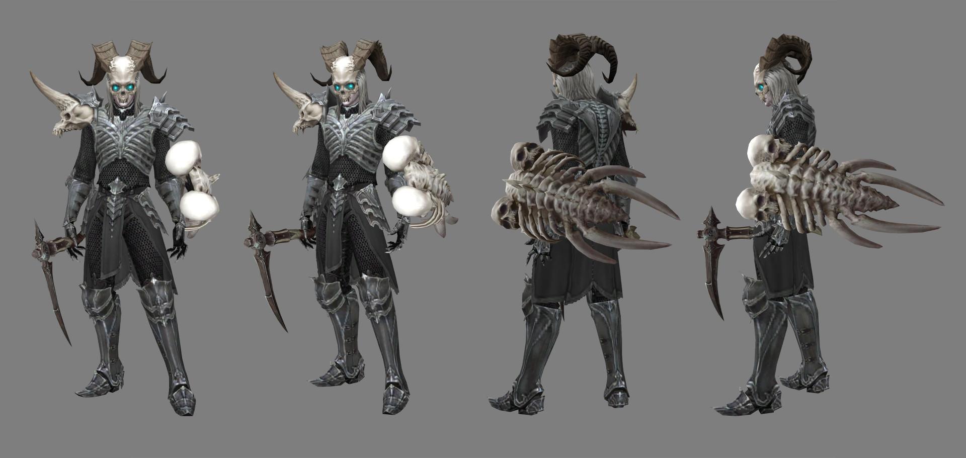 Diablo 3 Nécromancien