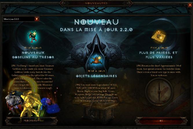 Diablo 3 Patch 2.2.0