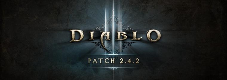 Diablo 3 Patch 2.4.2