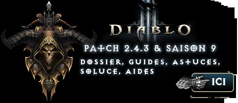 Diablo 3 Patch 2.4.3 & Saison 9