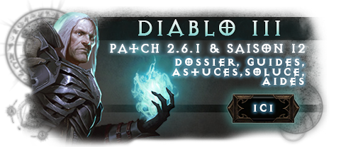Diablo 3 Patch 2.6.1 Saison 12 Nécromancien