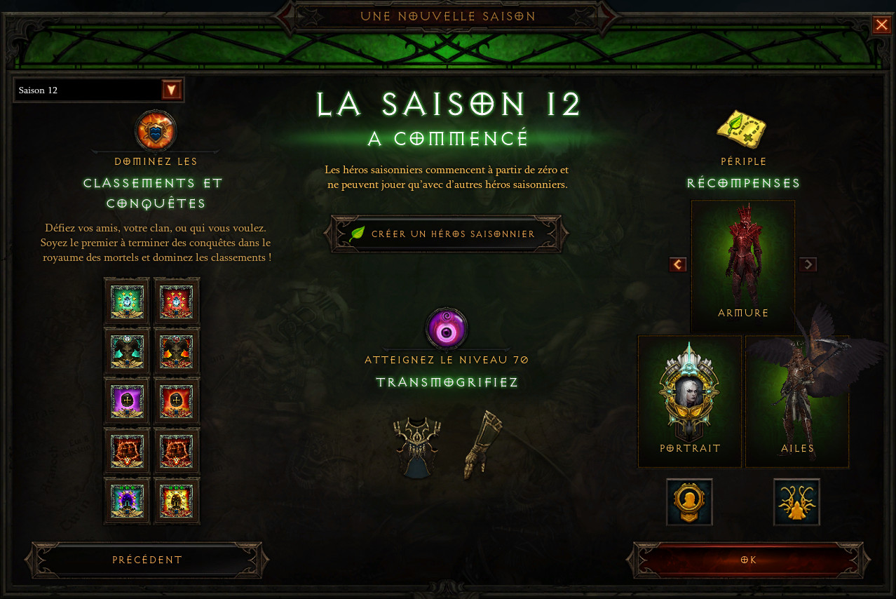 Diablo 3 Patch 2.6.1 Saison 12