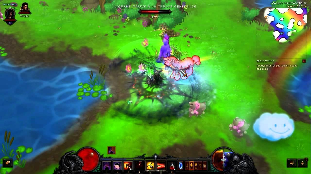 Diablo 3 Vallée fantastique