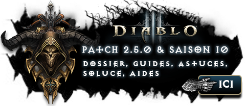 Diablo 3 Patch 2.4.5 & Saison 10