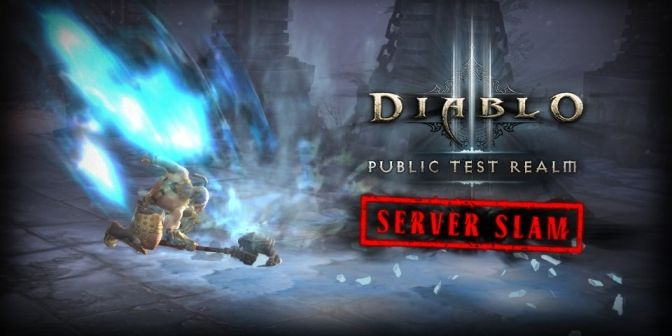 Slam Test Diablo 3 PTR 2.4.1