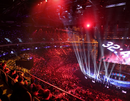 Worlds League of Legends Berlin 2015