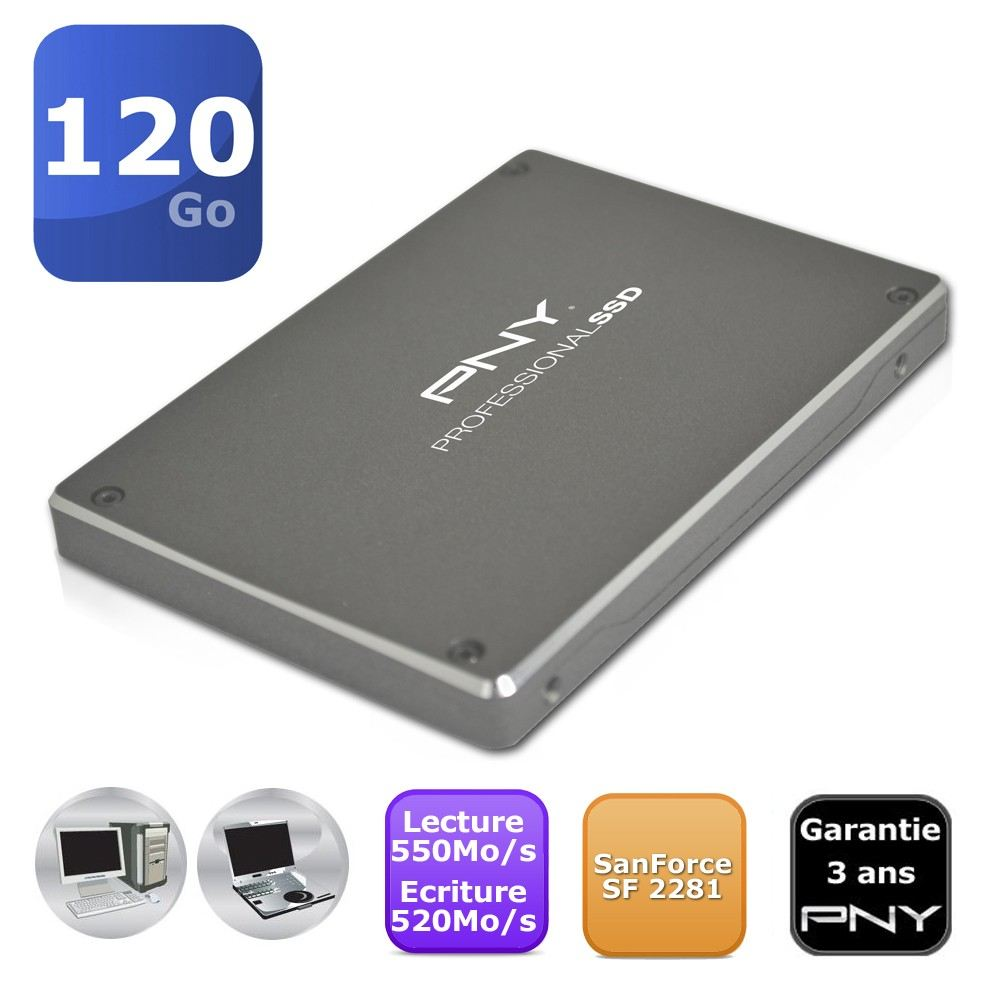 SSD Pny 120Go