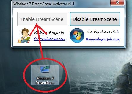 fond décran animé pour pc windows 7