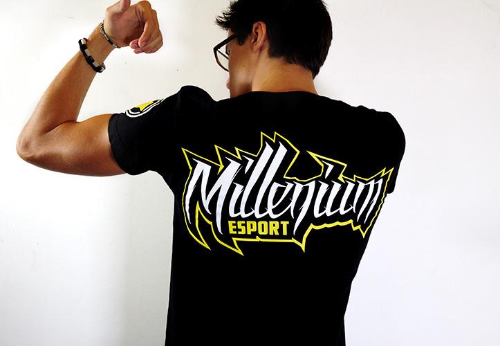 T-shirt Millenium esport