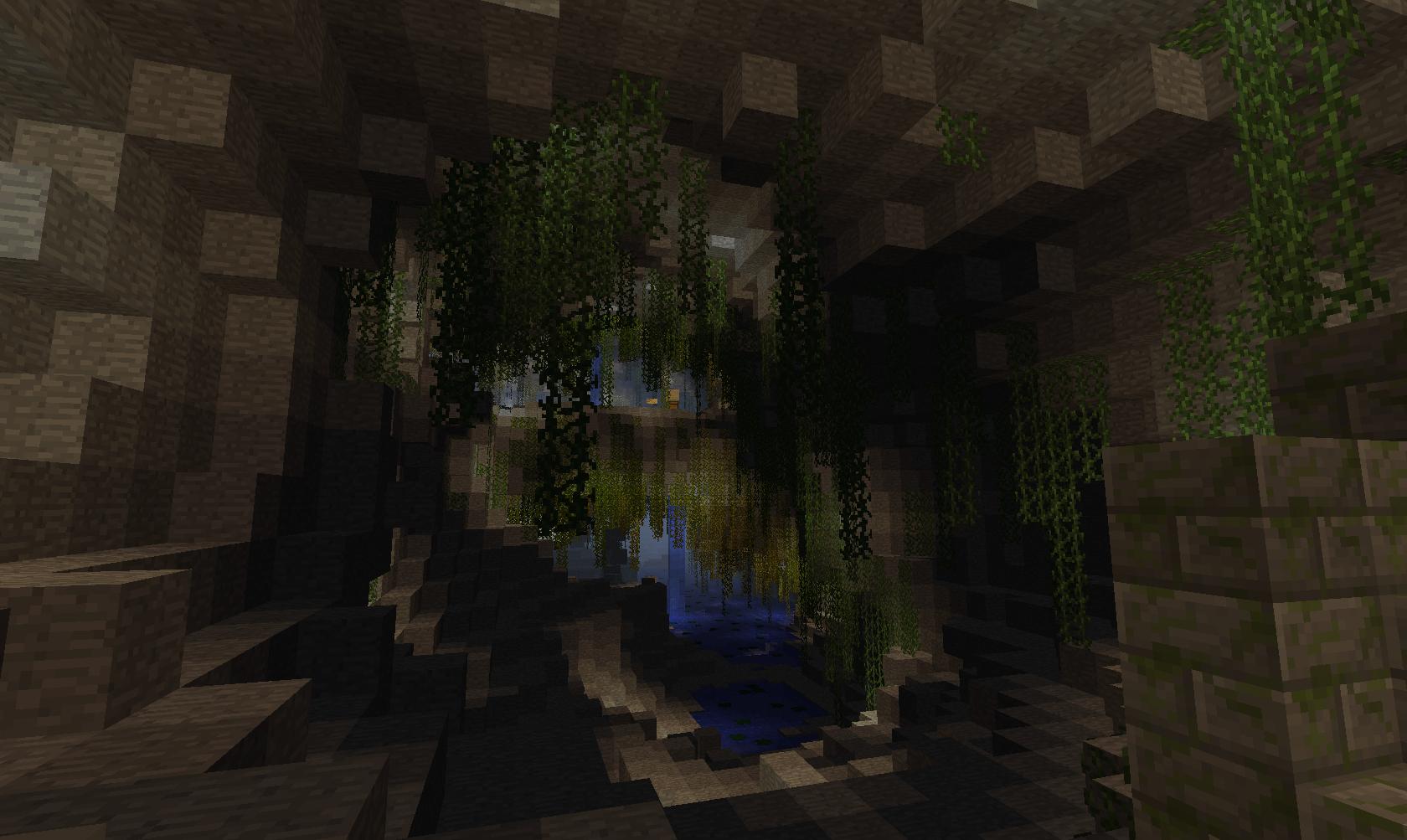 карты для майнкрафт прохождение в пещере #5