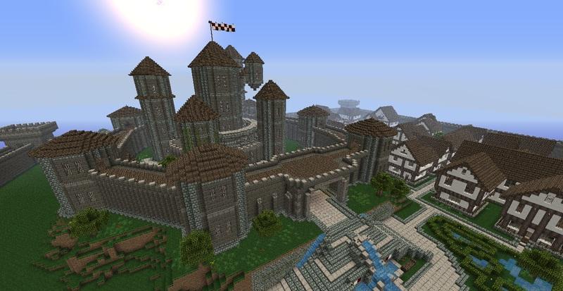 Comment Construire Un Chateau Fort Minecraft 2019