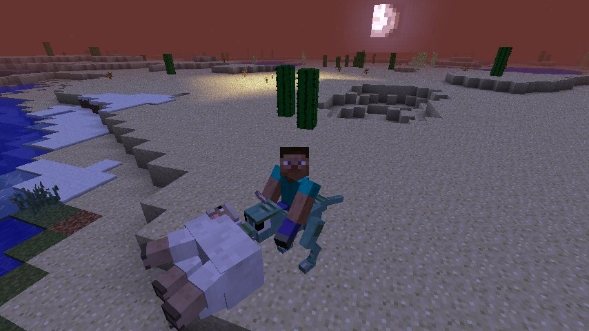 Animaux Minecraft mod animal bikes - millenium