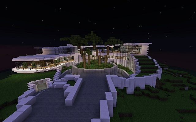 Emejing plan d une maison de luxe moderne contemporary amazing