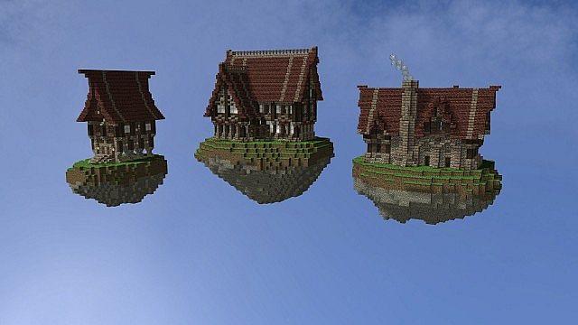 Maison Medieval Minecraft Plan