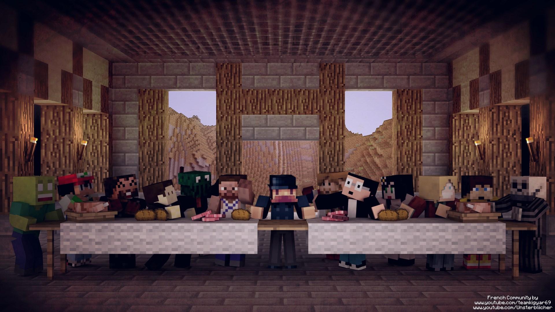 Fonds Décran Minecraft Millenium