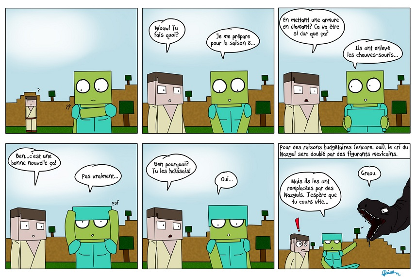Minecraft Les Bd De 0uicmoi 8 Millenium